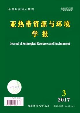 亚热带资源与环境学报期刊征稿要求